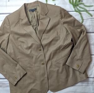 Lafayette 148 New York | Tan Suit Blazer